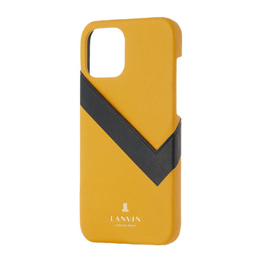LANVIN COLLECTION - SLIM WRAP CASE SAFFIANO WRAP for iPhone 12/12 Pro