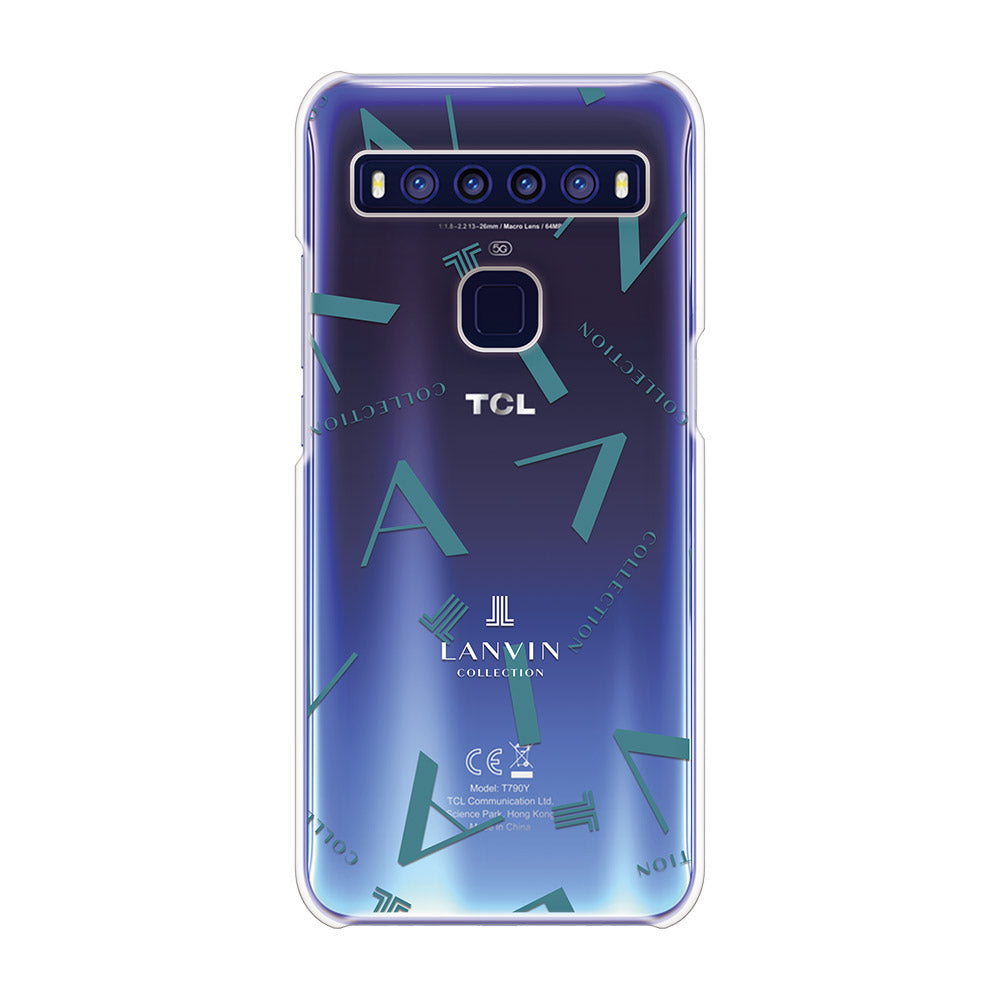 LANVIN COLLECTION - CLEAR CASE TYPOGRAPHY for TCL 10 5G
