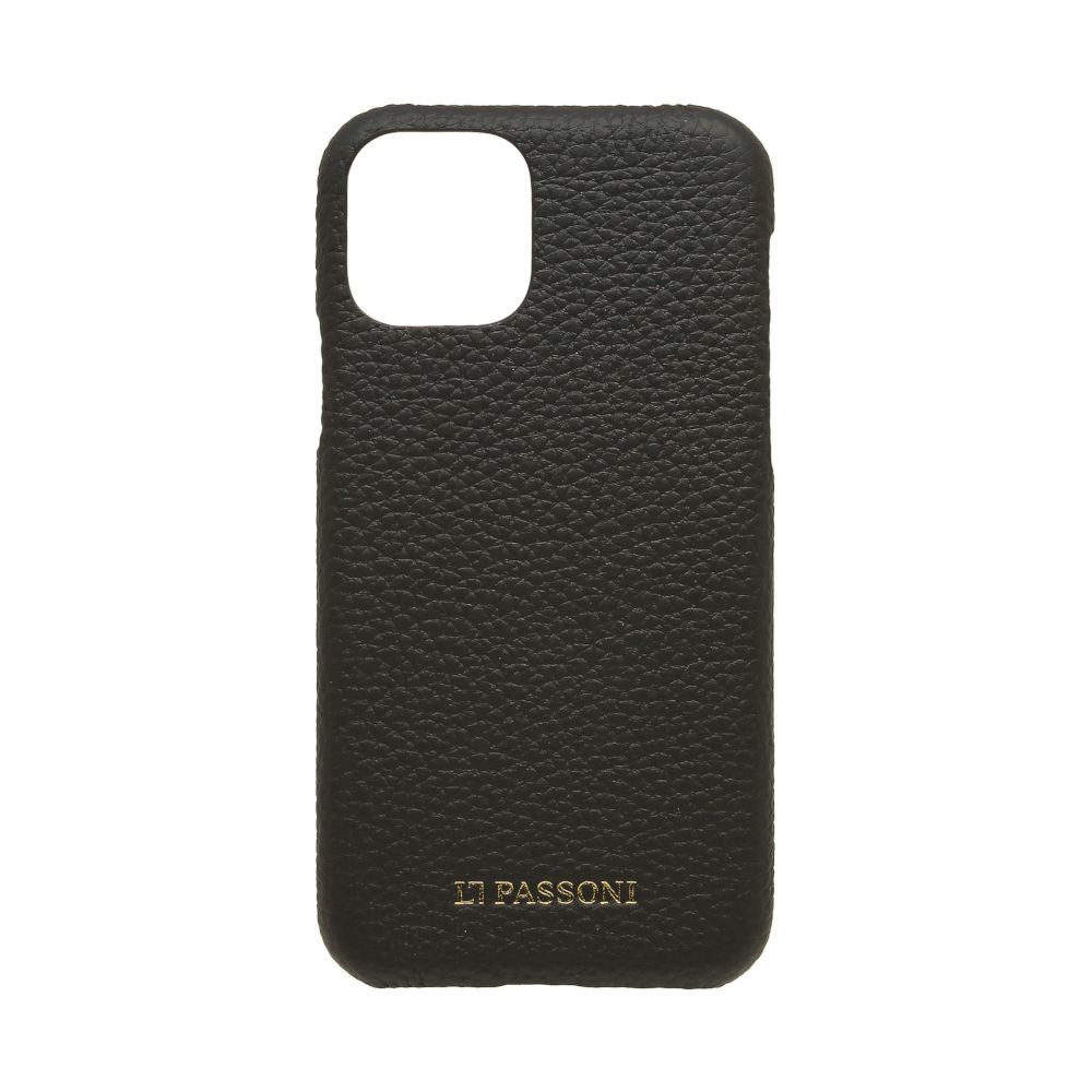 LORNA PASSONI - German Shrunken Calf Wrap Case for iPhone 11 Pro Max