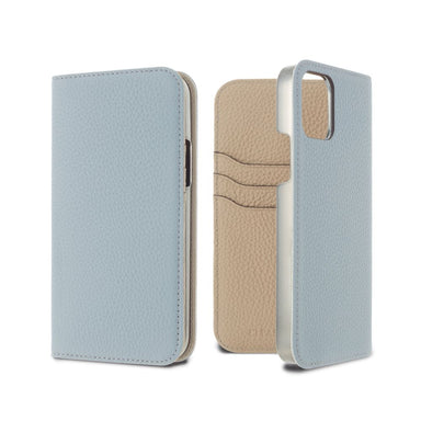 LORNA PASSONI - German Shrunken Calf Folio Case for iPhone 11 Pro Max