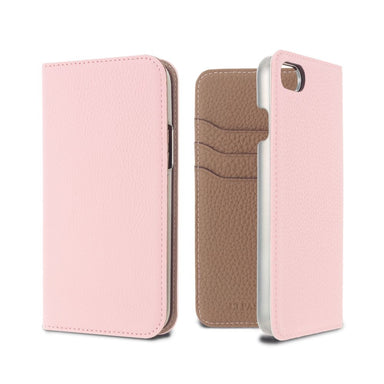 LORNA PASSONI - German Shrunken Calf Folio Case for iPhone SE 第2世代/8/7