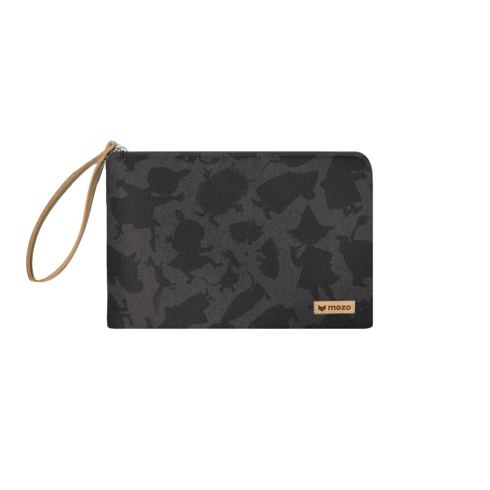 MOZO - MOOMIN Shadow Laptop Pouch 11-inch - Black Shadow