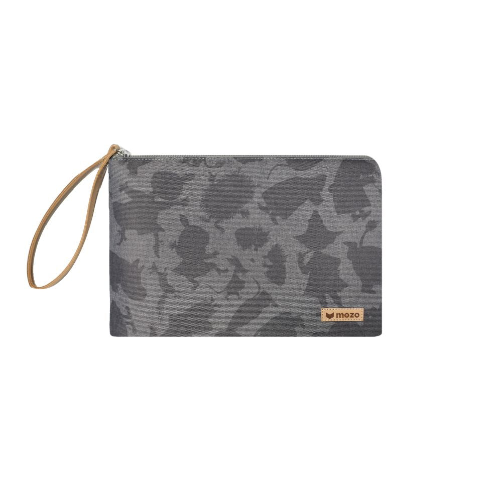 MOZO - MOOMIN Shadow Laptop Pouch 11-inch - Gray Shadow