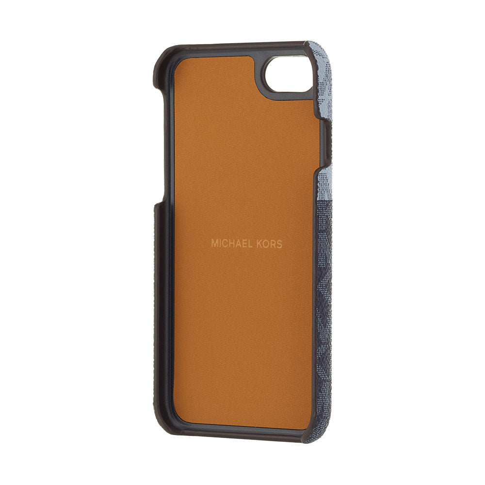 MICHAEL KORS - SLIM WRAP CASE 2 TONE for iPhone SE2 (第2世代)