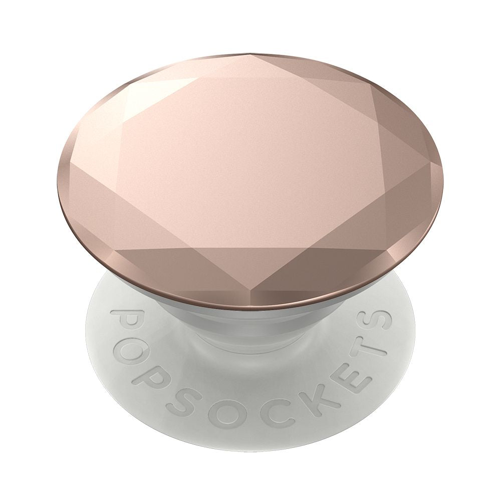 PopSockets - PopGrip Premium - Metallic Diamond Rose Gold