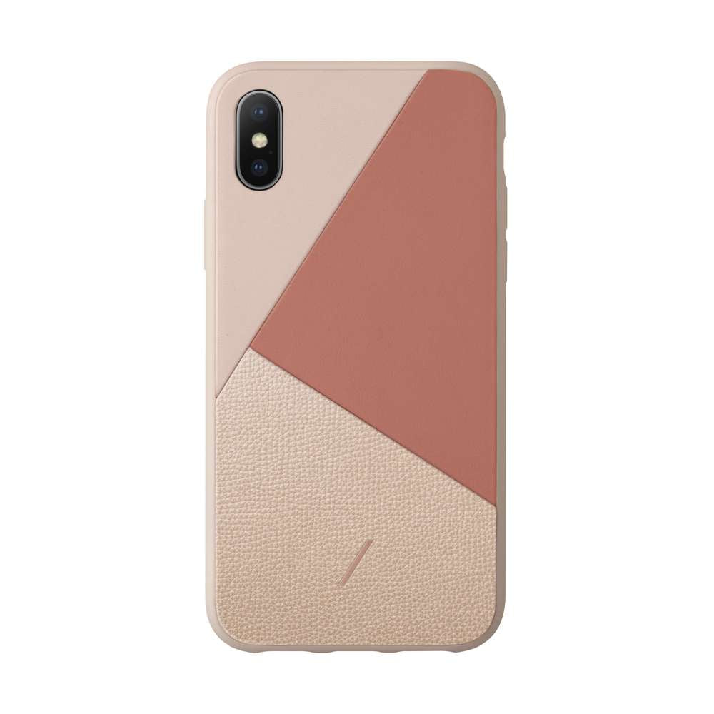 Native Union - CLIC MARQUETRY for iPhone XS/X / ケース - FOX STORE