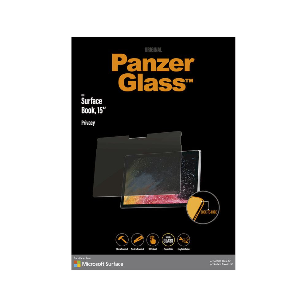 PanzerGlass - Privacy Screen Protector for Surface Book ( 1st/2nd/3rd ) 15""