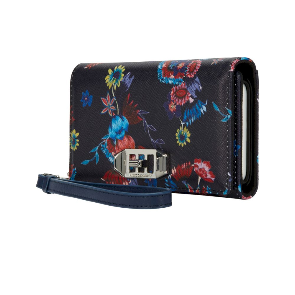 Rebecca Minkoff - Hold A Little Wristlet for iPhone XS/X - Pressed Flowers