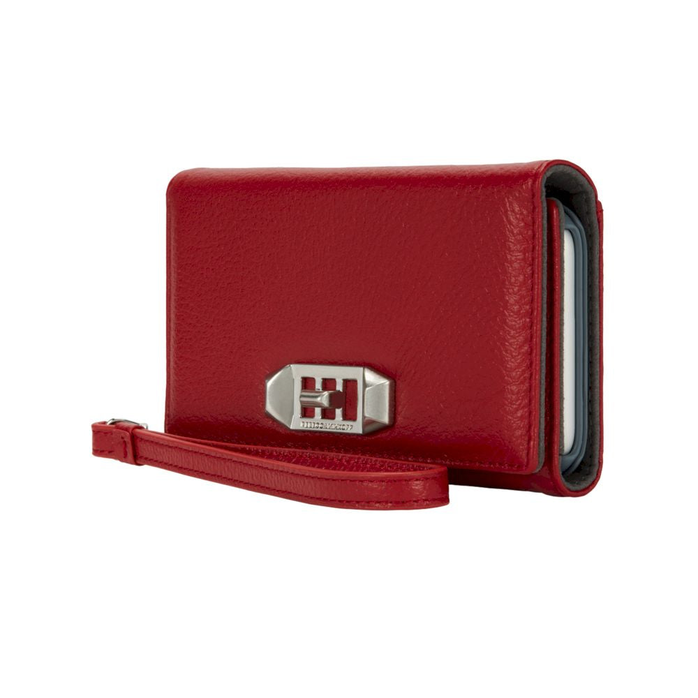 Rebecca Minkoff - Hold A Little Wristlet for iPhone XS/X - Scarlet