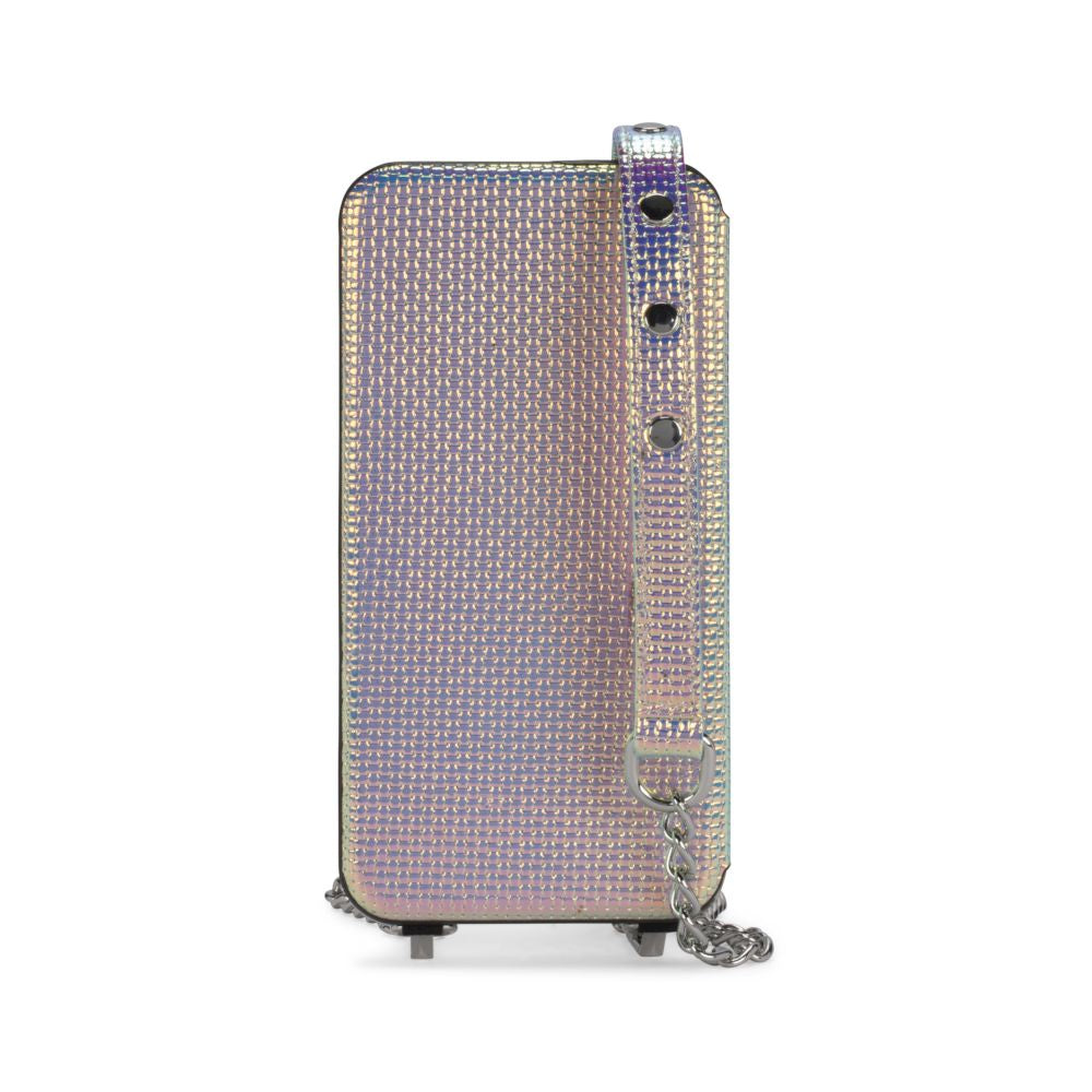 Rebecca Minkoff - Time to Reflect Crossbody Case for iPhone XS/X - Holographic Leather - Holographic Leather