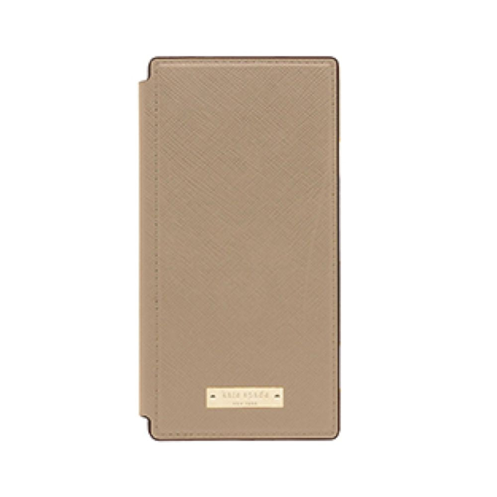 kate spade new york - Folio Case for Xperia  XZ1 - Greige