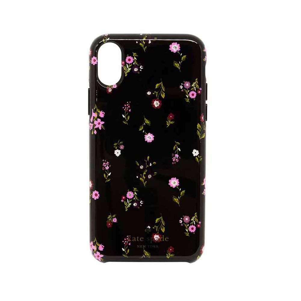 kate spade new york - Hybrid Hardshell Case For iPhone X/XS - SPRIGGY FLORAL