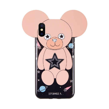 IPHORIA - Teddy Line Case for iPhone XS/X / ケース - FOX STORE