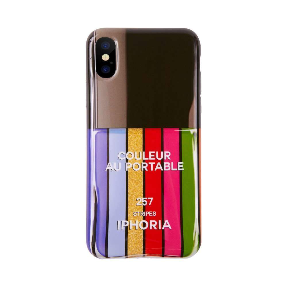 IPHORIA - Nailpolish Line for iPhone XS/X / ケース - FOX STORE