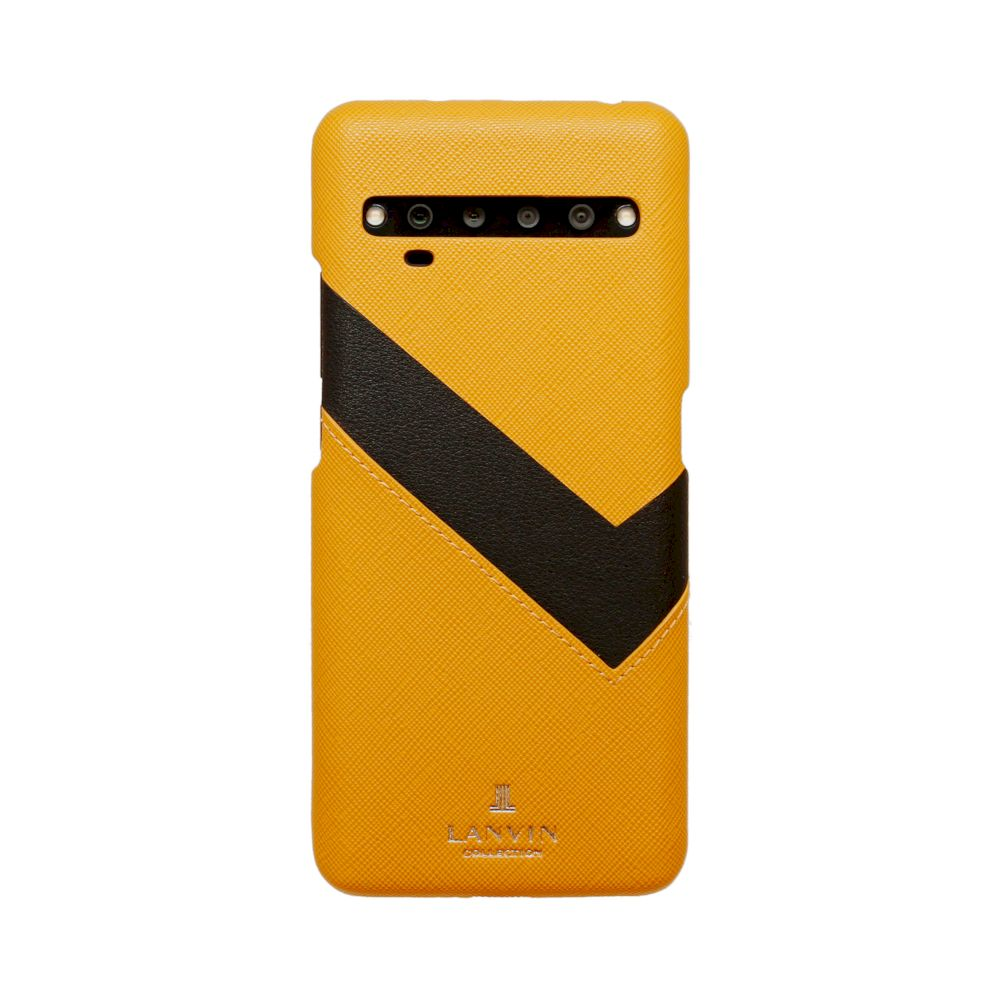 LANVIN COLLECTION - SLIM WRAP CASE for TCL 10 Pro - Yellow