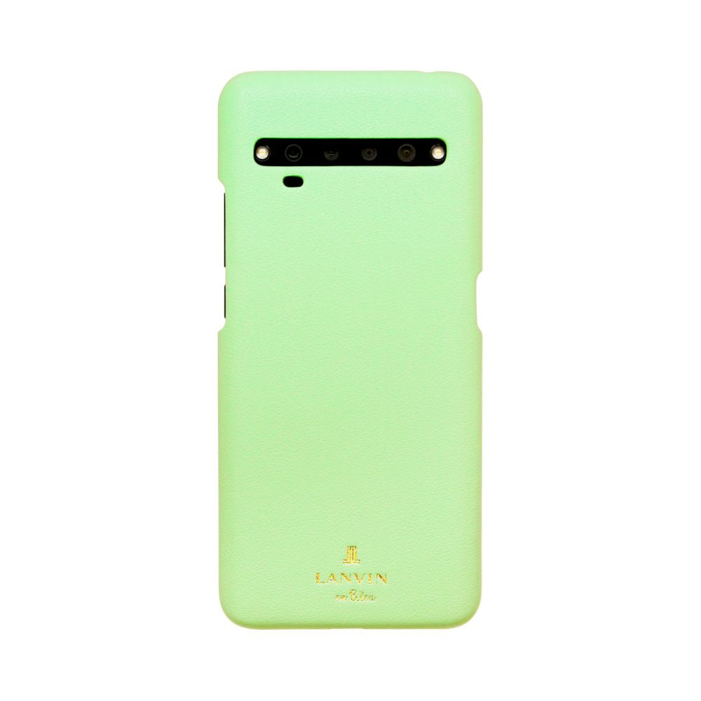 LANVIN en Blue - SLIM WRAP CASE for TCL 10 Pro - Mint Green