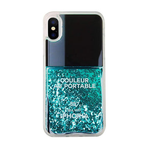 IPHORIA - Liquid Line Nail Polish Case for iPhone XS/X - caseplay