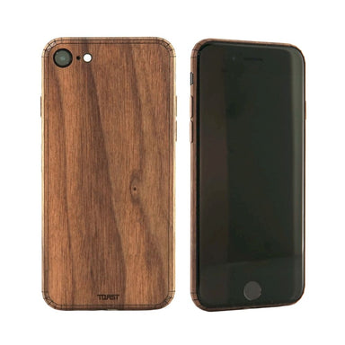 TOAST - Plain Cover for iPhone SE 第2世代 - Walnut