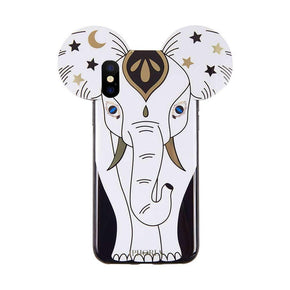 IPHORIA - Elephant Line Case for iPhone XS/X - caseplay
