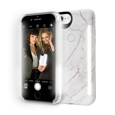 LuMee - LuMee DUO Marble for iPhone 7s Plus/7 Plus/6s Plus/6 Plus - FOX STORE