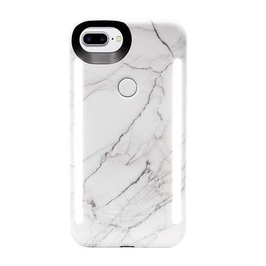 LuMee - LuMee DUO Marble for iPhone 7s Plus/7 Plus/6s Plus/6 Plus