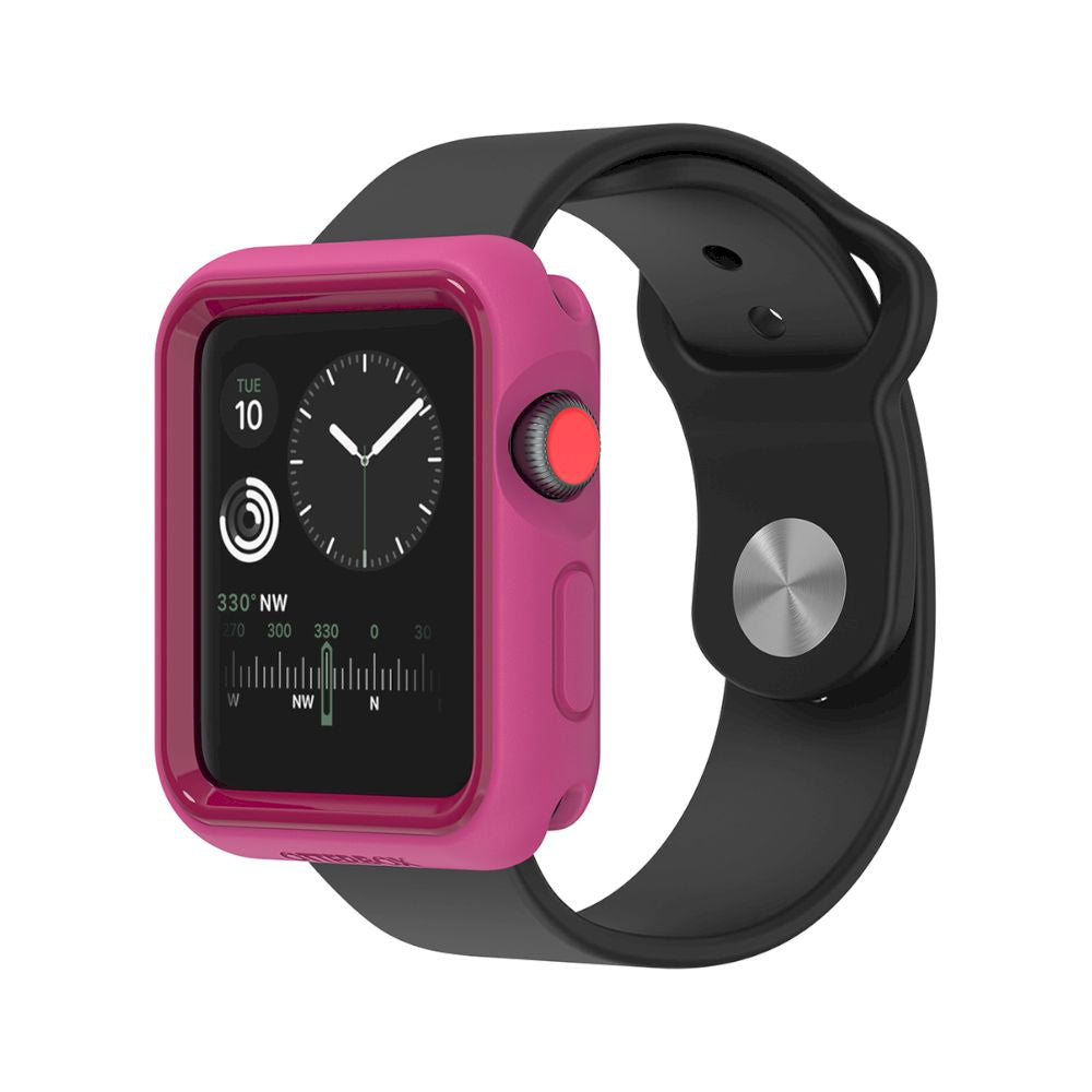 OtterBox - EXO EDGE for Apple Watch Series 3 42mm - Beet Juice Pink