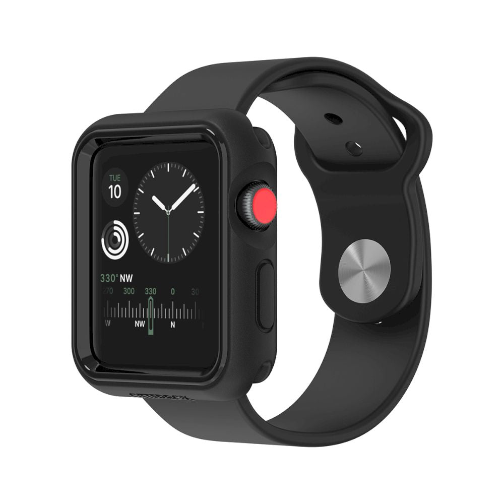 OtterBox - EXO EDGE for Apple Watch Series 3 42mm - Black