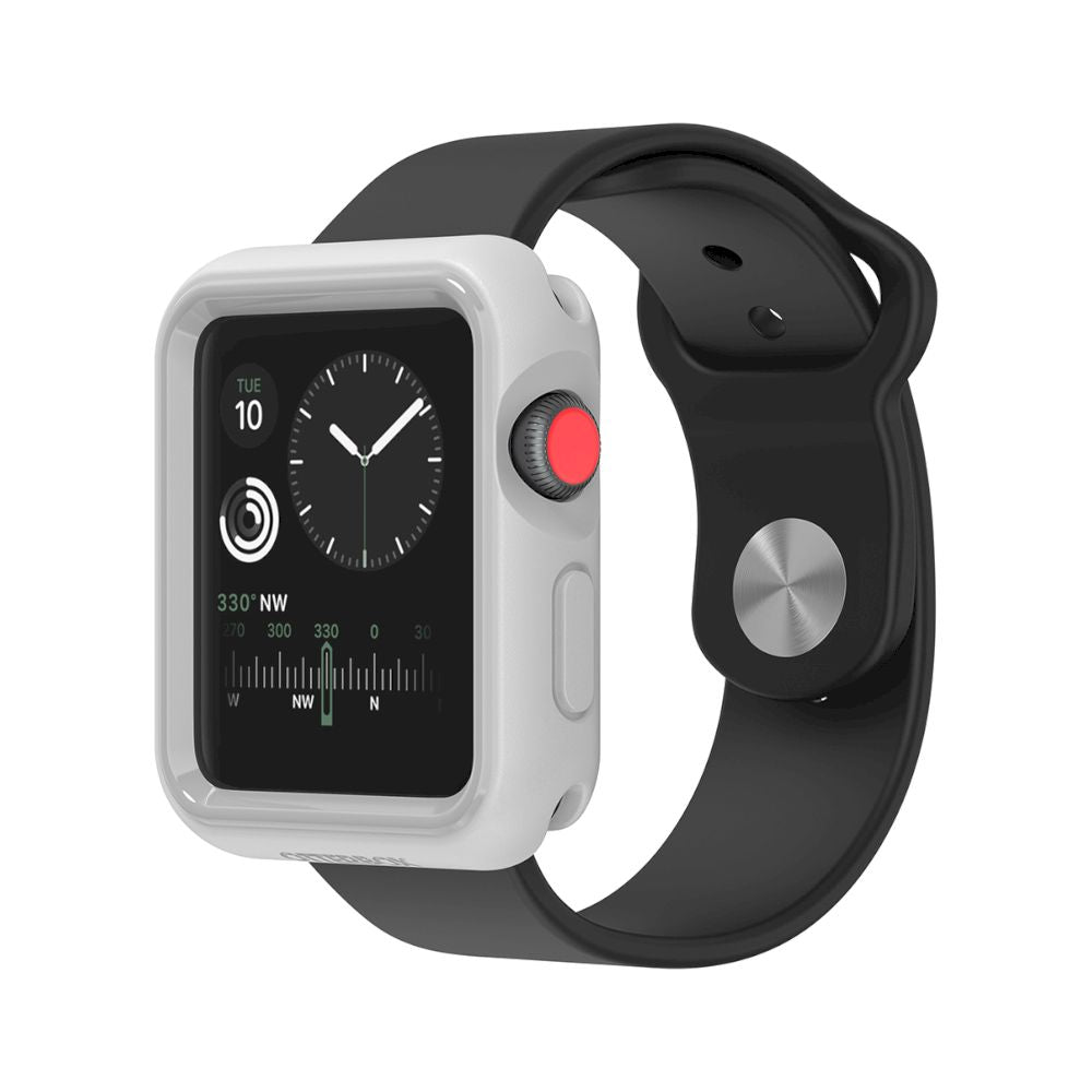 OtterBox - EXO EDGE for Apple Watch Series 3 42mm - Pacific Gloom Grey