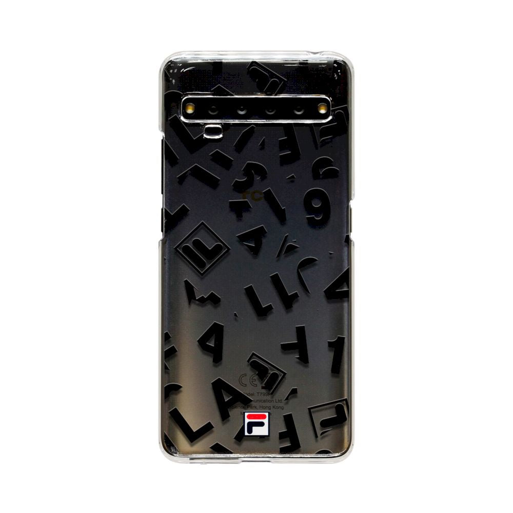 FILA - CLEAR CASE for TCL 10 Pro - TYPOGRAPHY