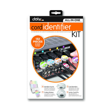 Dotz - Home Entertainment Cord Identifier Kit