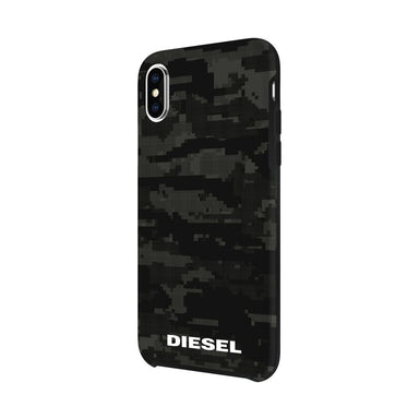 Diesel Printed Co-Mold Soft Touch Pixelated Case for iPhone - caseplay