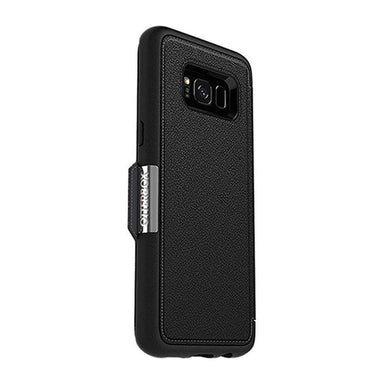 OtterBox - SYMMETRY Leather Folio for Galaxy S8