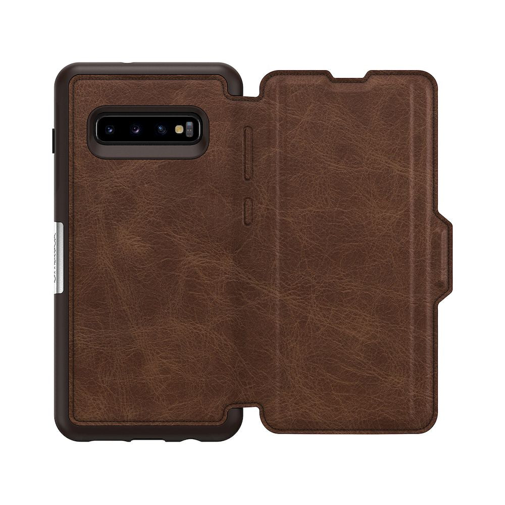 OtterBox - Symmetry Series Leather Folio Case for Galaxy S10 + / ケース - FOX STORE