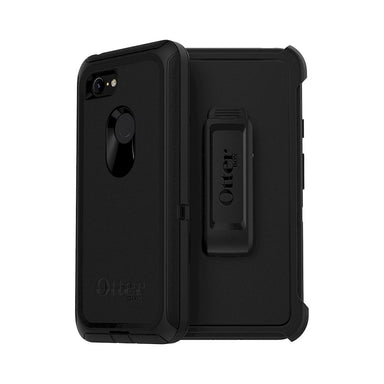 OtterBox - Defender Series For Google Pixel 3 XL - Black