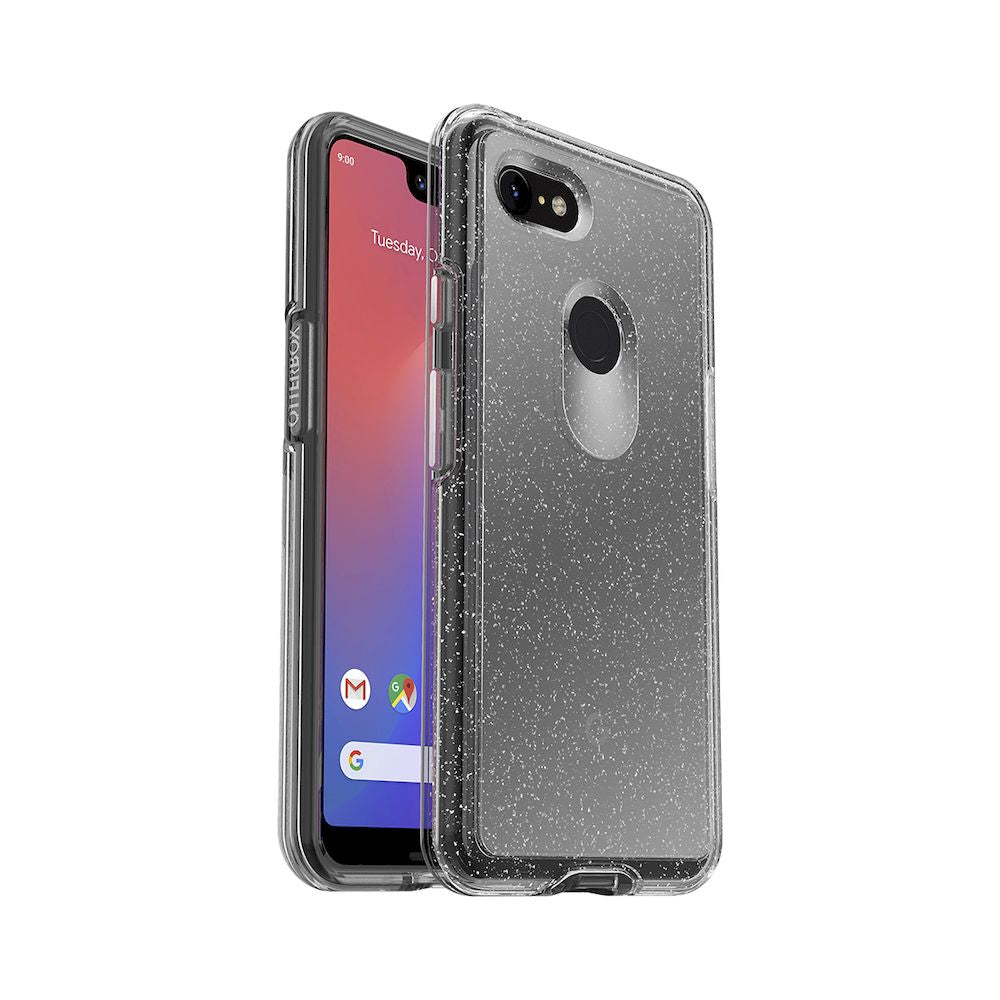 OtterBox - Symmetry Series Clear Case For Google Pixel 3 XL - Stardust