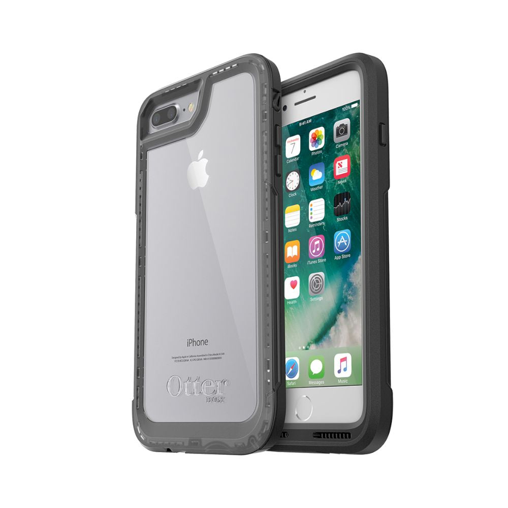 OtterBox - Pursuit Series For iPhone 8/7 Plus [ Black/Clear ] - Black/Clear