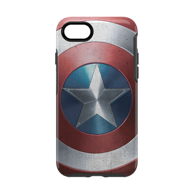 OtterBox - SYMMETRY Captain America for iPhone SE 第2世代/8/7 [ Captain America Shield ]