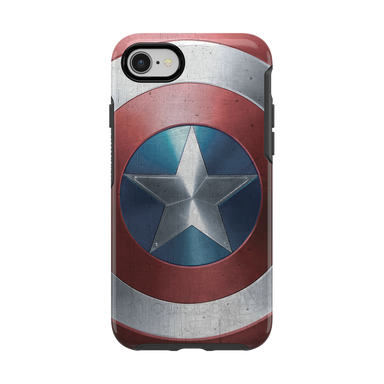 OtterBox - SYMMETRY Captain America for iPhone 8/7 [ Captain America Shield ] - FOX STORE