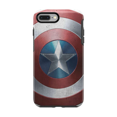 OtterBox - SYMMETRY Captain America for iPhone 8/7 Plus [ Captain America Shield ] - FOX STORE