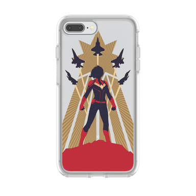 OtterBox - SYMMETRY CAPTAIN MARVEL for iPhone 8/7 Plus [ Captain Marvel ] - FOX STORE