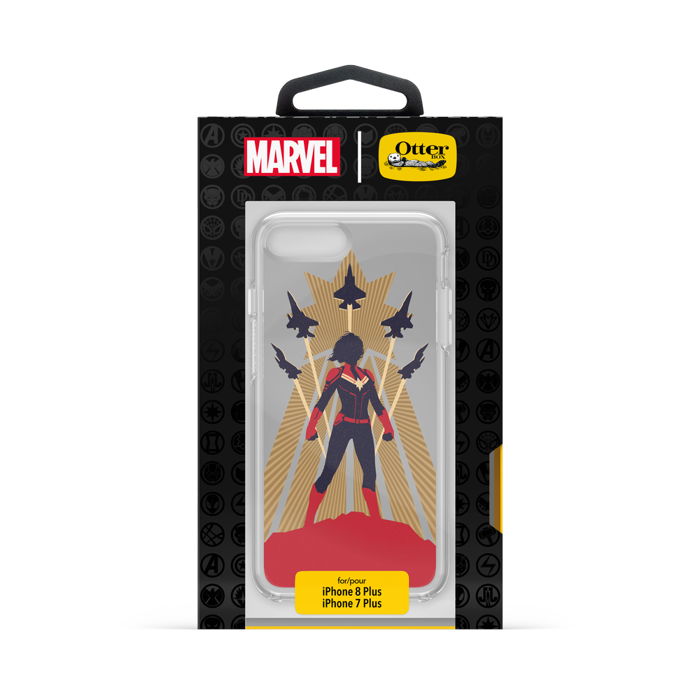 OtterBox - SYMMETRY CAPTAIN MARVEL for iPhone 8/7 Plus [ Captain Marvel ] / ケース - FOX STORE