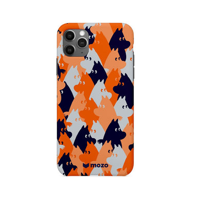 mozo - MOOMIN CAMO BACK COVER for iPhone 11