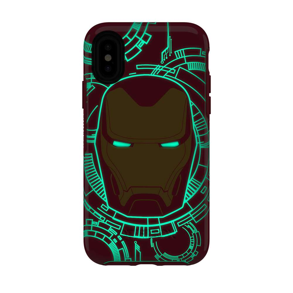 OtterBox - SYMMETRY IRON MAN for iPhone XS/X [ I Am Iron Man ] / ケース - FOX STORE