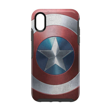 OtterBox - SYMMETRY Captain America for iPhone XR [ Captain America Shield ]