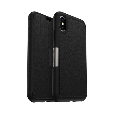 OtterBox - SYMMETRY LEATHER for iPhone XS/X - FOX STORE