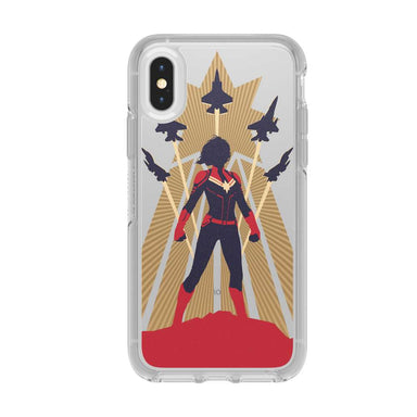 OtterBox - SYMMETRY CAPTAIN MARVEL for iPhone XS/X [ Captain Marvel ] - FOX STORE