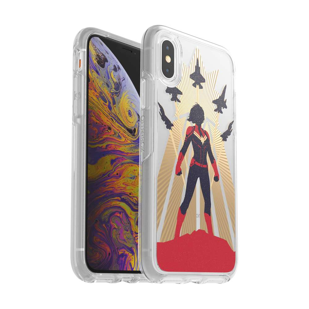 OtterBox - SYMMETRY CAPTAIN MARVEL for iPhone XS/X [ Captain Marvel ] / ケース - FOX STORE