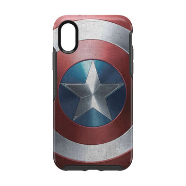 OtterBox - SYMMETRY Captain America for iPhone XS/X [ Captain America Shield ]