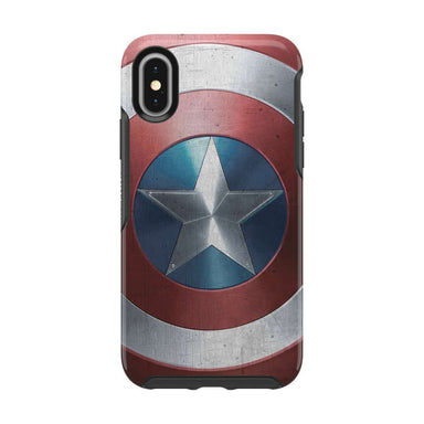 OtterBox - SYMMETRY Captain America for iPhone XS/X [ Captain America Shield ] - FOX STORE