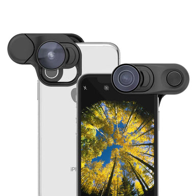 olloclip - Fisheye + Macro Essential and Super-Wide Essential for iPhone XS / アクセサリー - FOX STORE